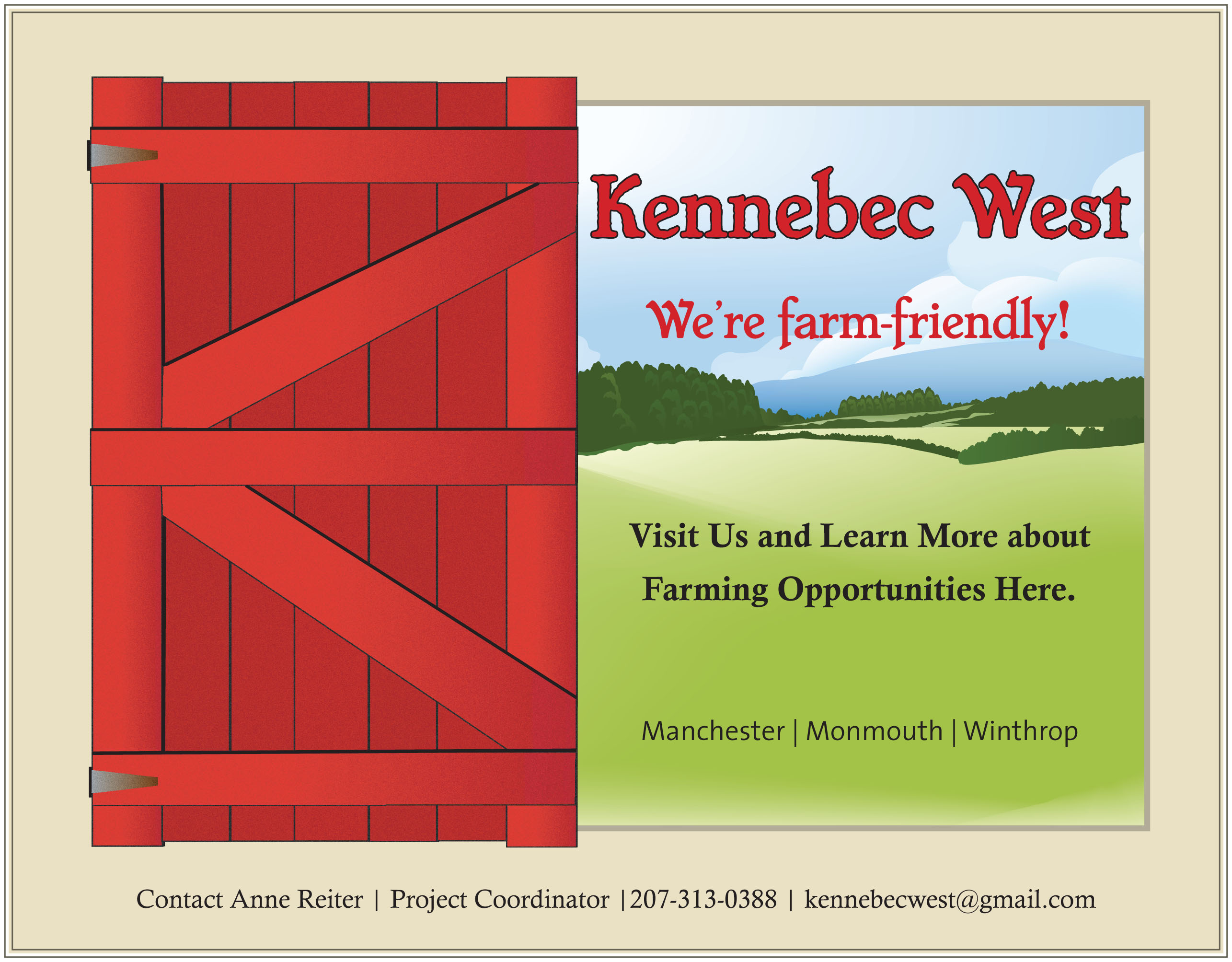 Kennebec West Farmland Protection Work Group Manchester Maine 04351